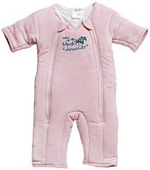 Merlin S Magic Sleepsuit Sizing Chart Baby Merlins Magic Sleepsuit Swaddle Transition Product Cotton Cream 3 6 Months