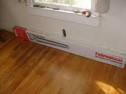 help me fix it installing a baseboard heater and remote thermostat fahrenheat 1500 watt electric baseboard heater