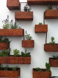 garden wall planter boxes