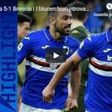 Sampdoria - Brescia 5-1 - Guarda Gol e Highlights - VIDEO ...