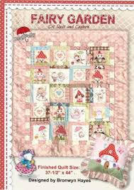 14 best fairy quilt patterns images on Pinterest | Quilt block ... & Fairy Garden Cot Quilt- by Bronwyn Hayes for Red Brolly Patterns Adamdwight.com