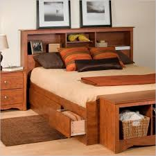 Bookcase Headboard Queen Lovely Double Bookcase Headboard 50 With  Additional Queen Bedroom