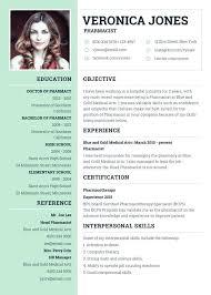 Curriculum Vitae Sample Format English Template Download
