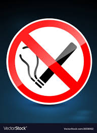 no smoking signs royalty free vector image vectorstock