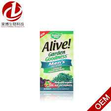 china alive garden goodness men s multivitamin 60 pills for man china weight loss slimming capsule