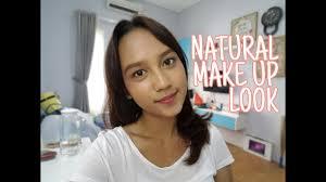 natural makeup tutorial restananda indonesia