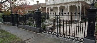 wrought iron fence victorian. Wrought Iron Fence Or Gates Natural Stone Melbourne New Fences Best Design  Interior 2 Wrought Iron Fence Victorian C