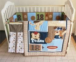 american baby crib bedding set boys early education 18 sports team inc comforter per coverlet diaper bag skirt brand baby crib bedding set crib bedding