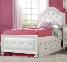 Full Upholstered Bed Frame Legacy Classic Kids Madison Full Upholstered Bed With Button