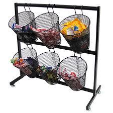 mesh basket counter candy display