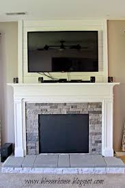 Build A Fake Fireplace Diy Faux Fireplace Entertainment Center Part 3 Blesser House