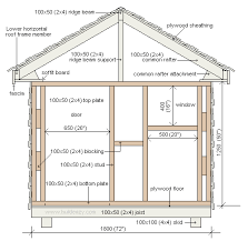 play house plans.  Plans Play House Design  Free Playhouse Plans Footprint Plan And Front  Elevation To Plans S