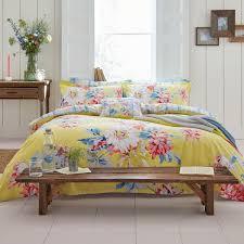 whitle fl kingsize duvet cover yellow