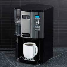 It has a nifty gauge that shows you how much coffee is left. Cuisinart Coffee On Demand 12 Cup Programmable Coffeemaker Reviews Crate And Barrel