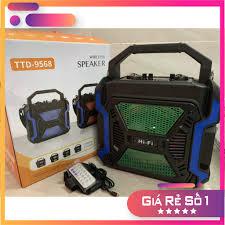 Loa karaoke bluetooth mini TTD-9568 - Hàng chất lượng, giá tốt nhất