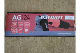 Отзывы о <b>углошлифовальной машине PATRIOT AG</b> 124 110301270