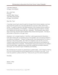 Cover Letter Sample Resume For Teaching Position Sample Resume For