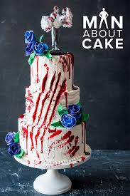 553 best man about cake images on pinterest Zombie Wedding Decorations this zombie wedding cake is (literally) to die for learn how to make zombie wedding supplies