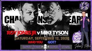 12, 2020 inside dignity health sports park in carson, california. Mike Tyson V Roy Jones Jr September 12th 2020 Who You Got Youtube