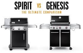 Weber Bbq Comparison Chart Weber Spirit Vs Genesis Which Model Is Right For You