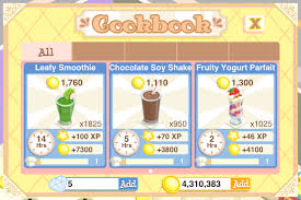 curly you can prepare 3 dishes with the treat dispenser leafy smoothie chocolate soy shake and fruity yogurt parfait