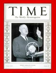 TIME Magazine Cover: Senator Robert F. Wagner - Mar. 19, 1934 - Congress -  Senators - New York - Politics