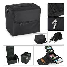 dels about large beauty make up nail tech cosmetic box artist vanity case storage bag salon