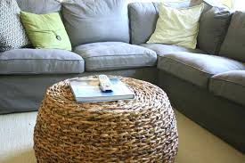 round seagrass coffee table sophisticated seagrass coffee
