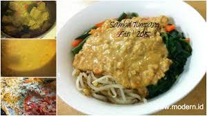 Resep soto betawi daging sandung lamur, dimasak dengan susu cair makin lezat. Resep Sambal Tumpang Spesial Khas Kediri Modern Id