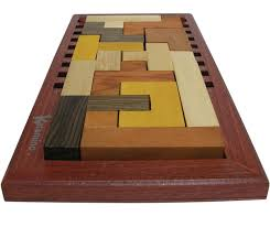 Wooden Strategy Games Katamino Deluxe Pentominoes Wooden puzzle and Strategy Game by 41