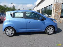 Denim (Blue) 2013 Chevrolet Spark LT Exterior Photo #70737995 ...