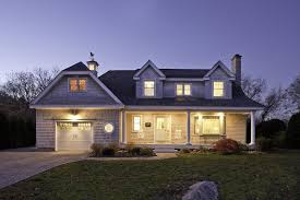 Cape dormer ideas exterior traditional with wood columns carriage doors  shingle siding