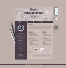 Free Resume Design Free Vintage Style Designers Resume Design Template Dribbble 38