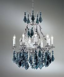 alpha black crystal chandelier with 10 lights