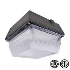 60 watt bronze led outdoor canopy light