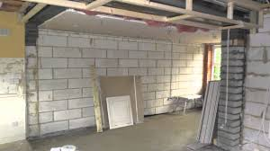 Garage Conversion To extend kitchen, Wootton Fields Northamptonshire -  YouTube