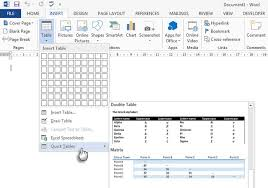 data table design inspiration. Quick Tables In MS Word Data Table Design Inspiration