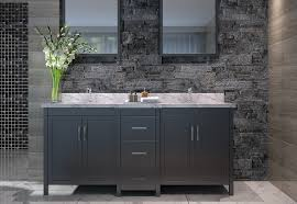 black bathroom vanity. hollandale 73 inch double sink bathroom vanity set black finish