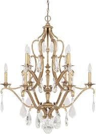capital lighting 4180ag cr blakely antique gold chandelier lamp loading zoom