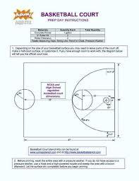 Outdoor Basketball Court Dimensions Kabarmanado Co