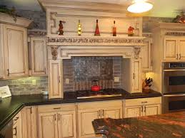 Classy Design Ideas Using Black Granite Countertops And Shaped Amazing Kitchen Backsplash With Granite Countertops Decoration
