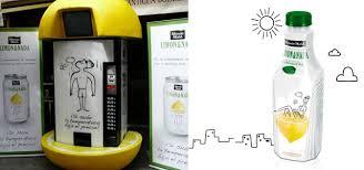 Lemonade Vending Machine Extraordinary In Spain Lemonade Made Cheaper When Temperature Rises Springwise