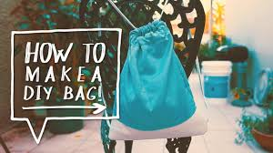 diy drawstring bag how to make a diy backpack for school sewing project alejandra s styles