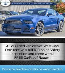 see our pre owned inventory at westview ford