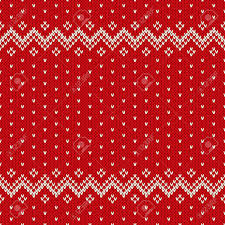 Christmas Pattern Sweater Cool Decorating Ideas