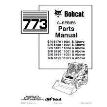 52 best bobcat manuals images on pinterest heavy equipment Bobcat 873 F Series Parts Diagram bobcat 773 g series skid steer loader parts manual pdf Aux Bobcat 873 Hydraulic Parts Diagrams