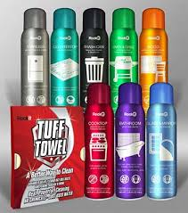 st clair ss based full spektrem llc has unveiled new packaging for its rock it line of cleaning supplies that includes a stainless steel and