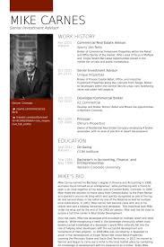 commercial real estate advisor resume samples realtor resume example