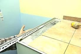 countertop tile edging aluminum carpet edge molding boat metal tile edging installation moulding door guards kitchen