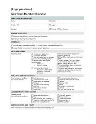 Employee File Checklist Phenomenal Employee Personnel File Checklist Format Template